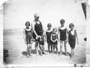 Granny Nora and children